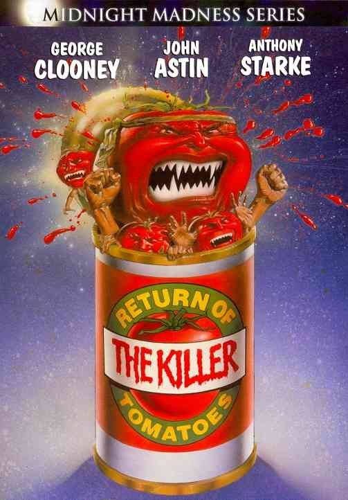 RETURN OF THE KILLER TOMATOES BY CLOONEY,GEORGE (DVD)