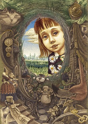 Alice's Adventures in Wonderland By Carroll, Lewis/ Lipchenko, Oleg (ILT)